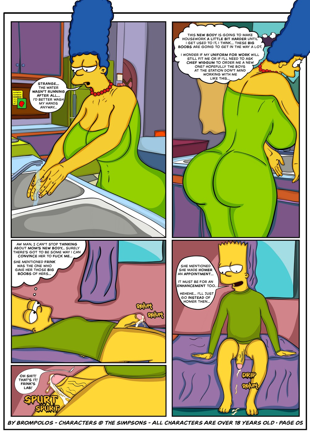 008 - The Simpsons are the sexenteins.