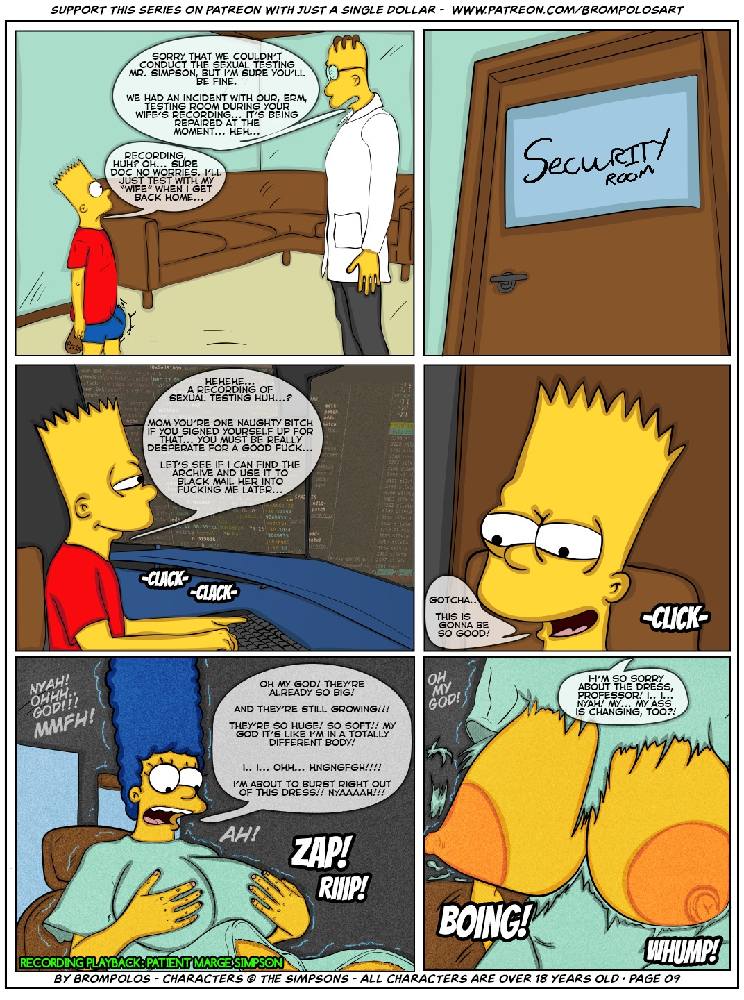 011 - The Simpsons are the sexenteins.