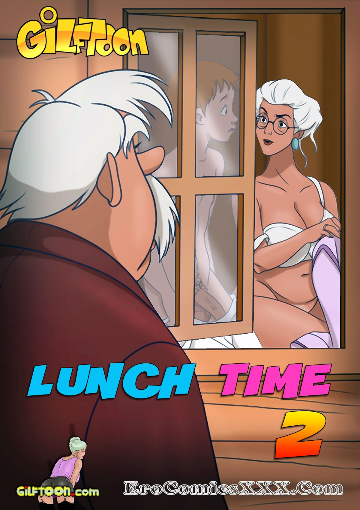 porn comics lunch time 2