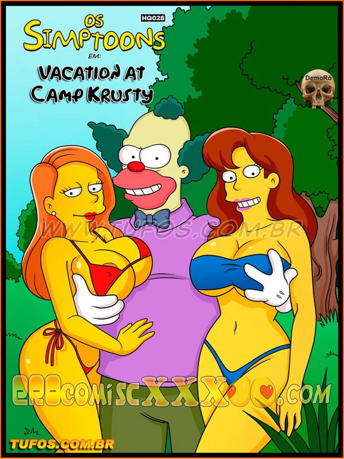 001 20 1126x1500 - Os Simptoons 28. Vacation at Camp Krusty.
