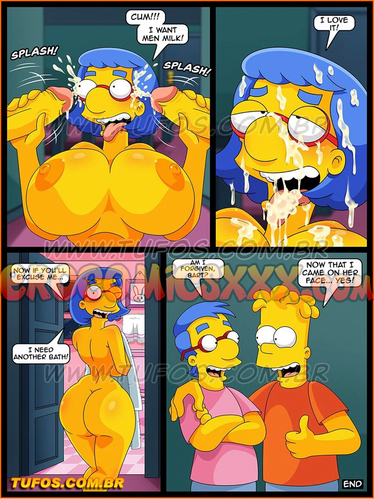 014 1 - The Simpsons 27. The Collection of Porn Magazines.