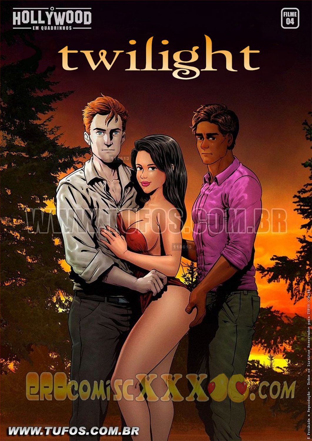 001 2 1061x1500 - In Hollywood Em Quadrinhos 4. Twilight.