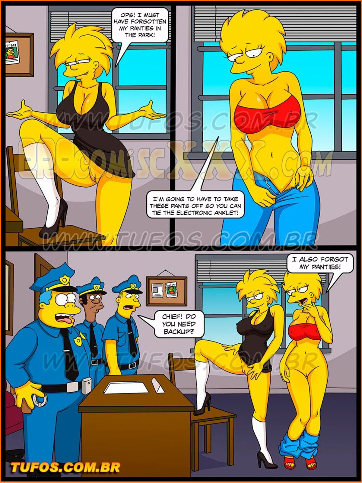 005 24 - The Simpsons 31 - Obscene Attack on Modesty - Tufos.