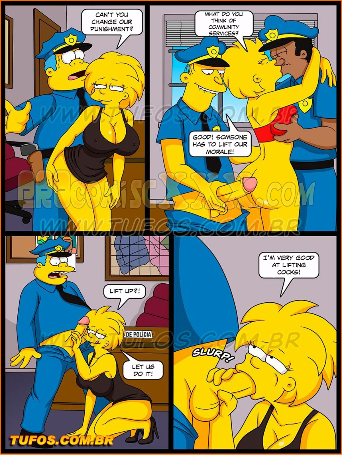 006 23 - The Simpsons 31 - Obscene Attack on Modesty - Tufos.