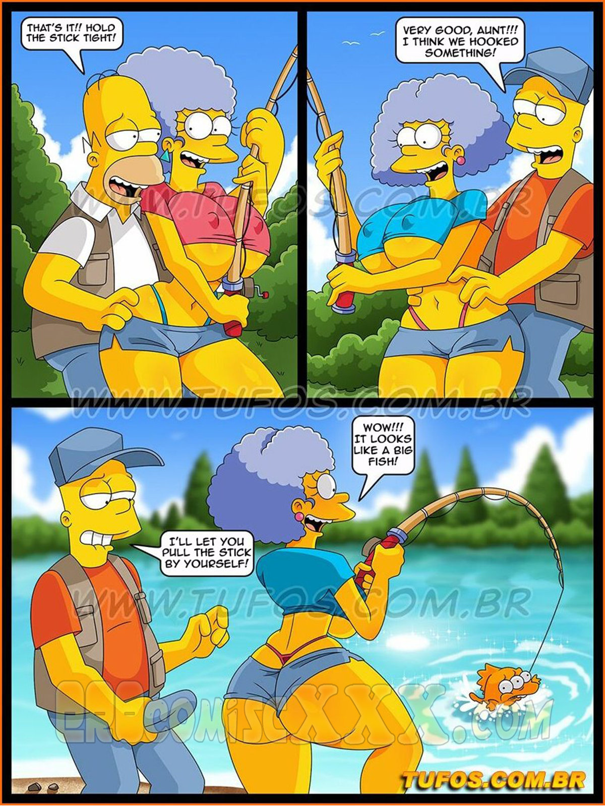 The Simpsons 30 Sex on the Fishing Trip 4 - The Simpsons 30- Sex On The Fishing Trip.