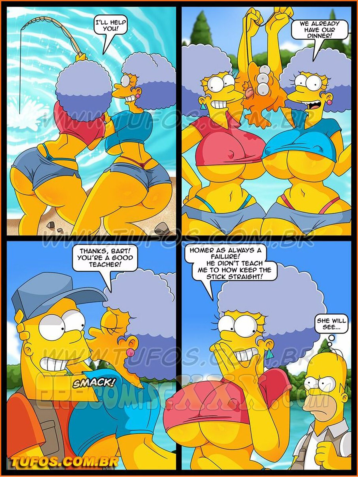 The Simpsons 30 Sex on the Fishing Trip 5 - The Simpsons 30- Sex On The Fishing Trip.