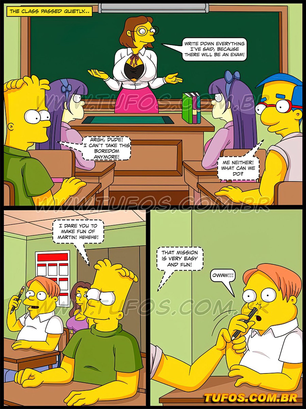 02 4 - The Simpsons 32 - Of saints, they have nothing