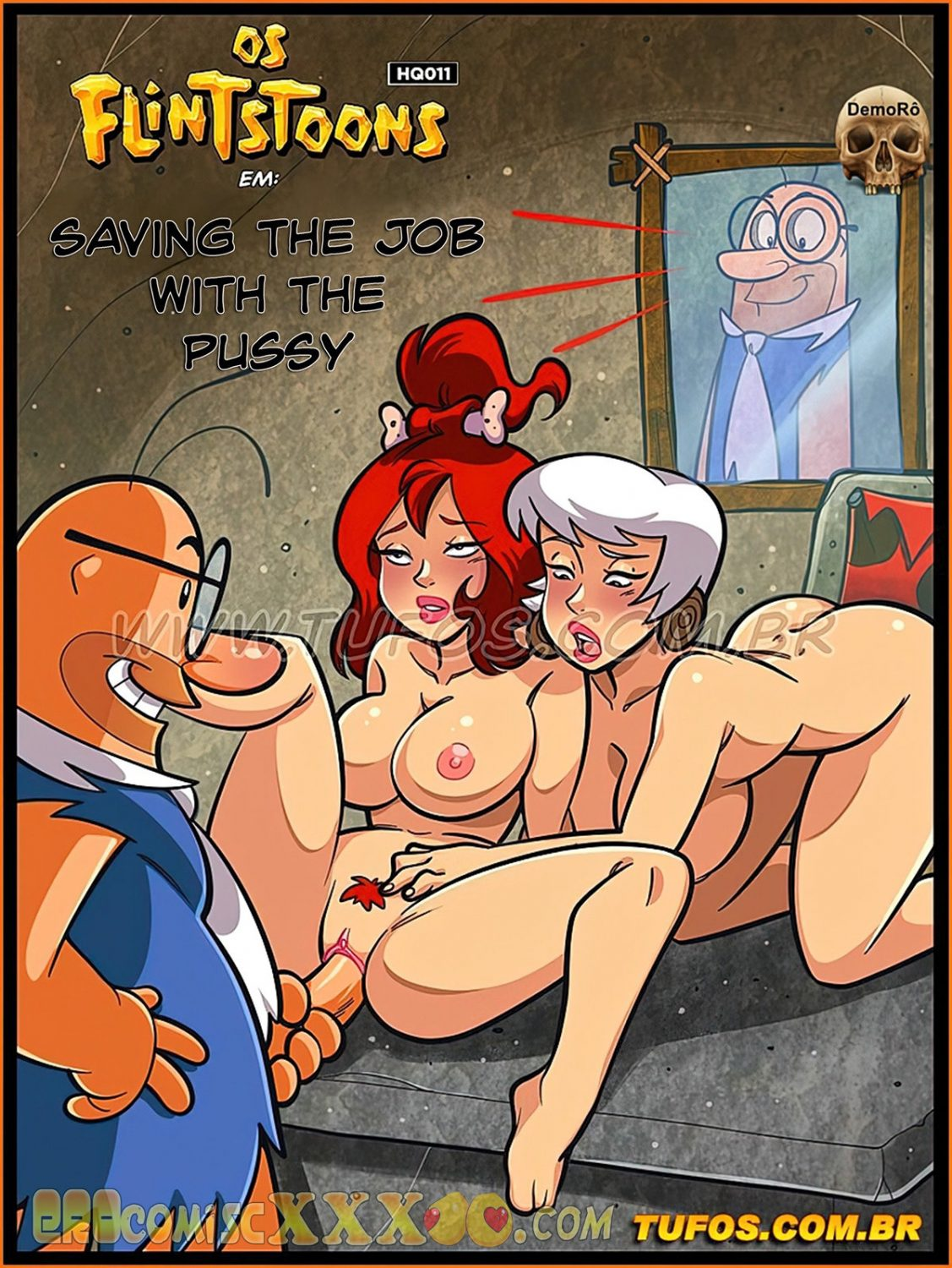 001 13 1127x1500 - The Flintstones 11. Saving The Job With The Pussy.