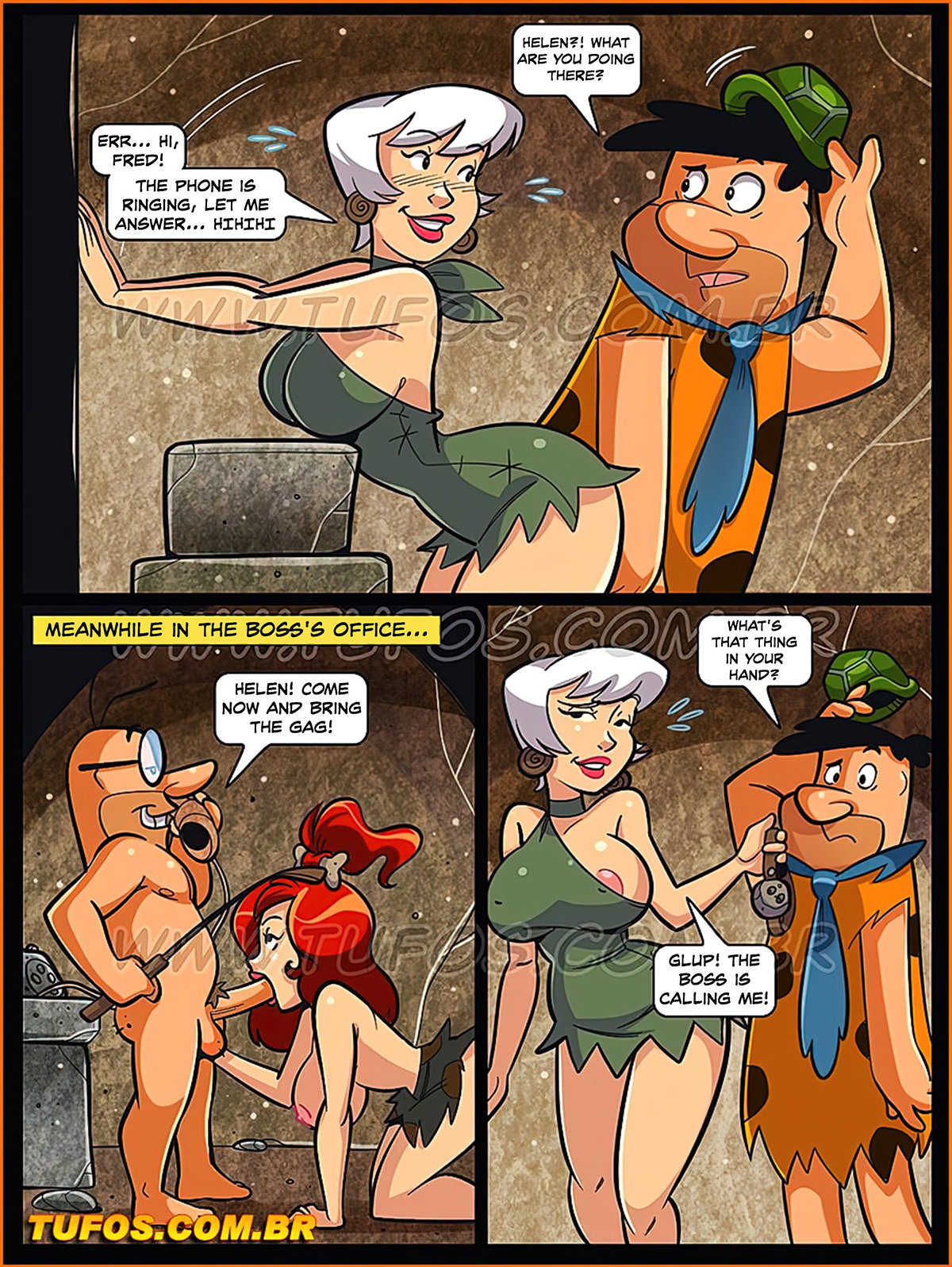 010 7 - The Flintstones 11. Saving The Job With The Pussy.