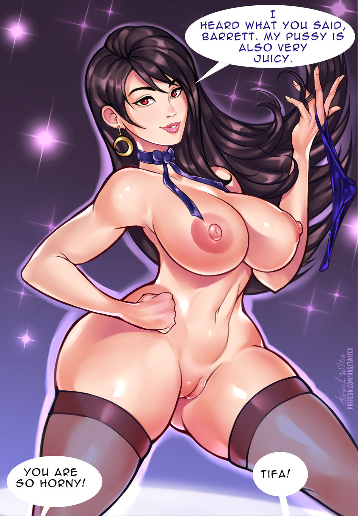 7 - Tifa New Years Party by Ange1witch.