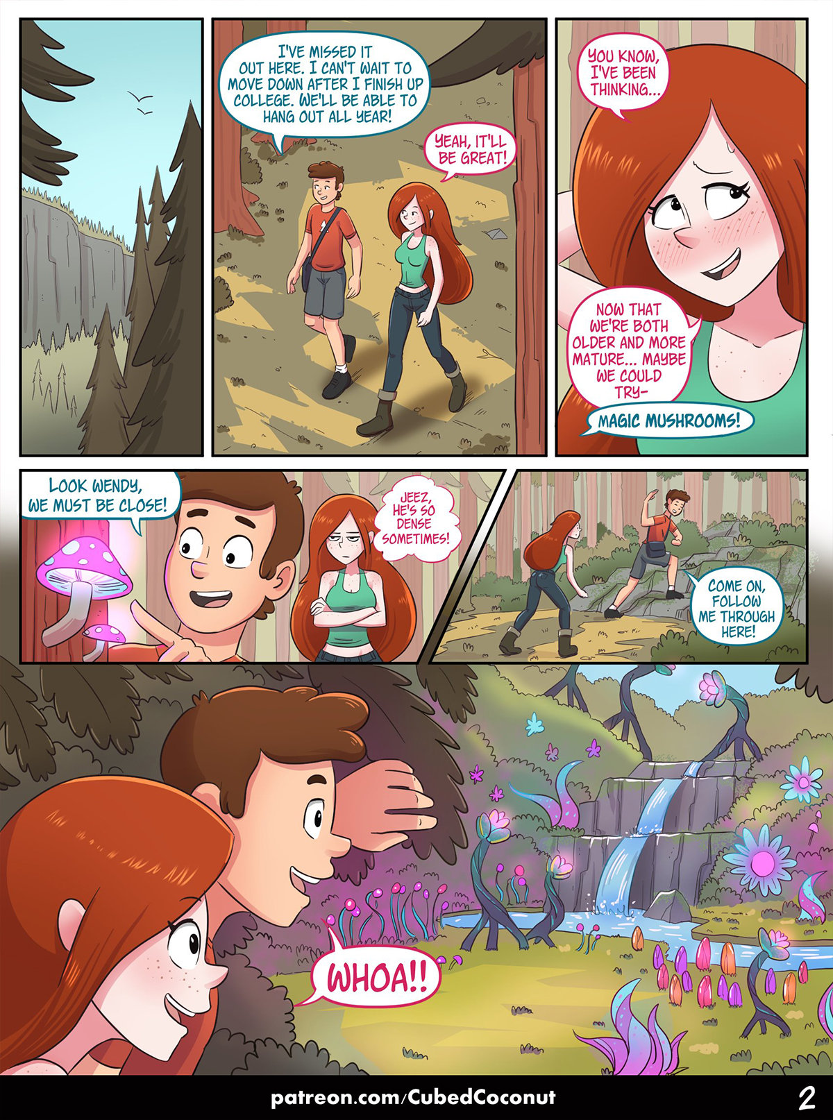 3 20 - WENDY'S CONFESSION- CUBED COCONUT (GRAVITY FALLS).