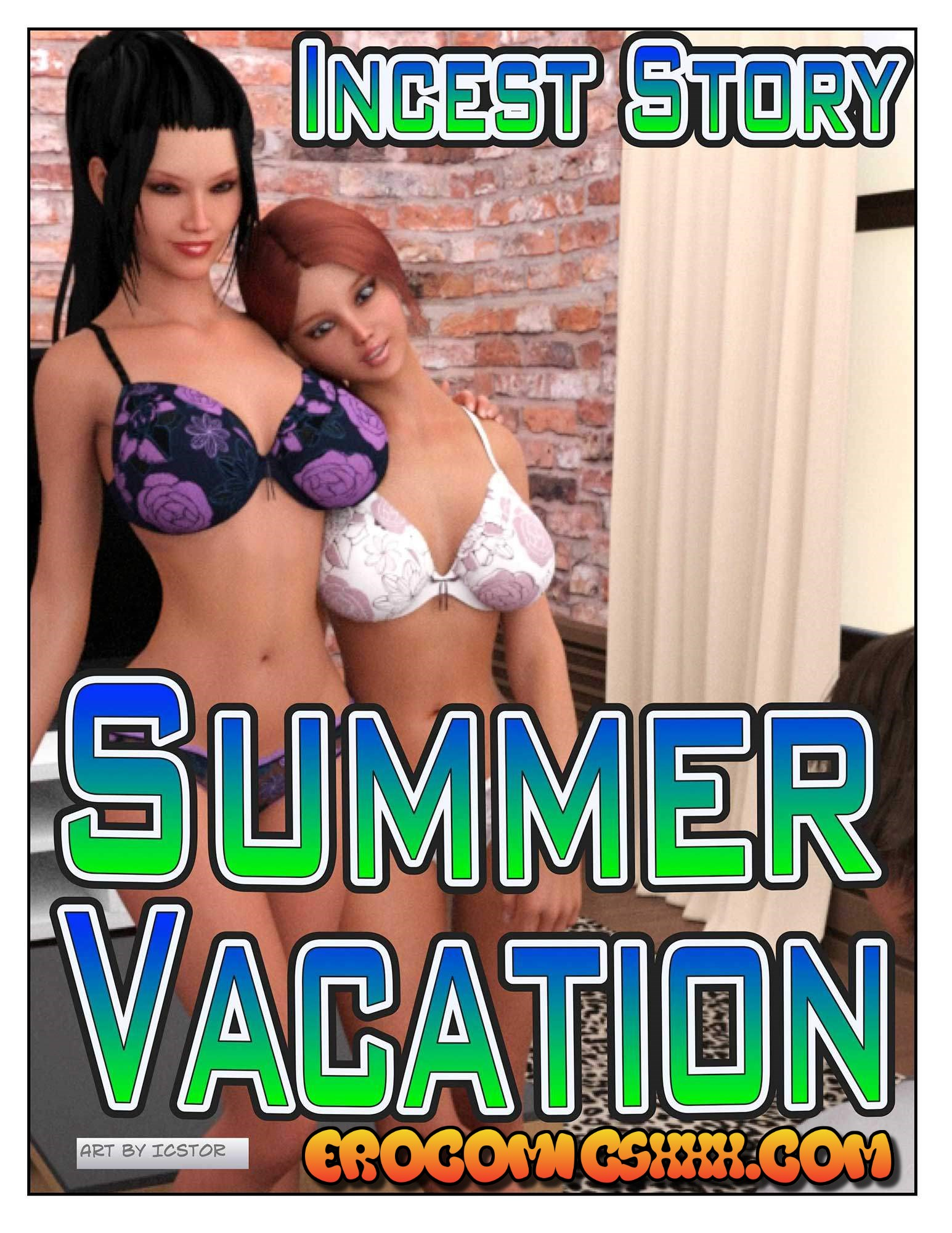 1 13 - Incest story. Summer vacation.
